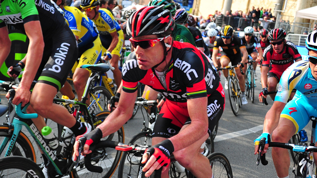 Cadel Evans comes out of the Tirreno-Adriatico searching for some Giro d'Italia winning form (Sirotti)