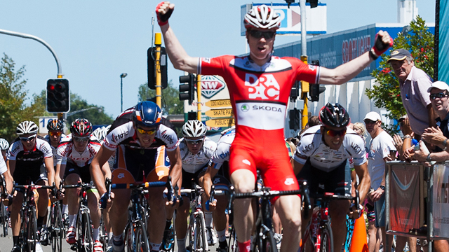 Tom Palmer won the final stage of the UCI 2.2 New Zealand Cycle Classic in January (Adrian Rumney)