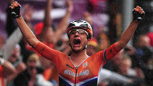 Face of a champion... Marianne Vos will have the home advantage (Getty Images)