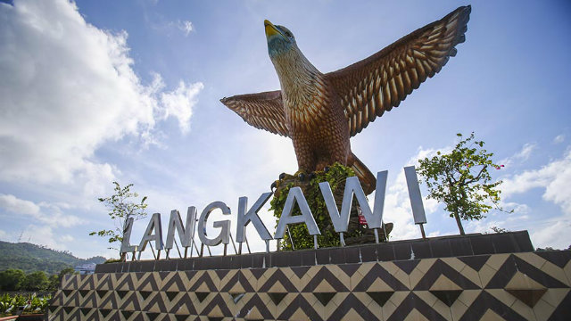 The eagle has landed in Langkawi  (Mark Gunter)