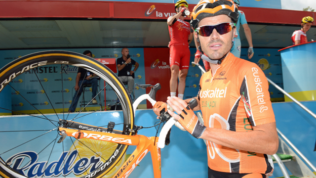 Euskaltel-Euskadi's Samuel Sanchez is without a new team and contract for the 2014 season (Sirotti)