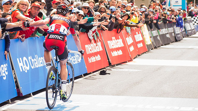 The 'Cadel effect' has done wonders for Australian cycling but can it now help events like the Great Ocean Road Race prosper? (AAP)