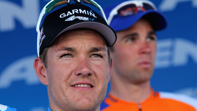 Heinrich Haussler was consistently beaten by Peter Sagan at the Amgen Tour of California (Getty Images)
