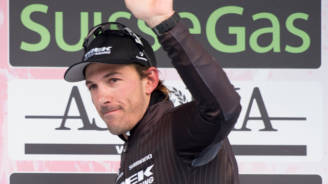 Fabian Cancellara...gracious in defeat? (AAP Images)