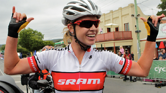 Peta Mullens hopes to juggle a career that rides on both the road and mountain bike (Cycling Australia)