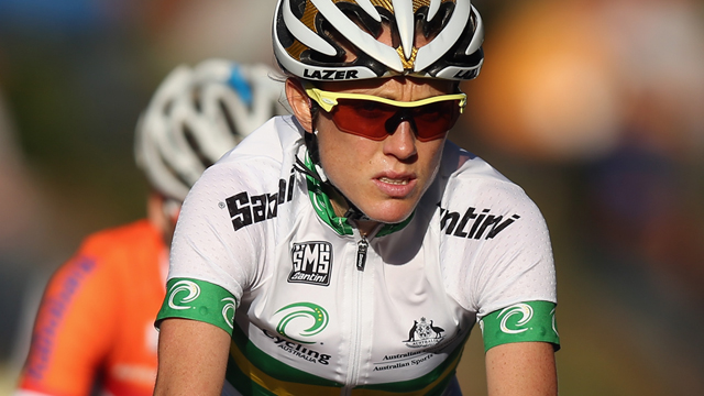 Rachel Neylan took silver at last year's UCI Road World Championships in Limburg - but the Australian women are still yet to take the rainbow jersey - might 2013 be their year? (Getty Images)