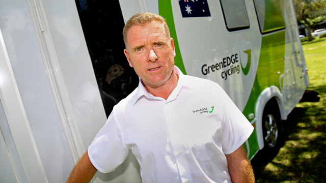 GreenEDGE General manager Shayne Bannan (Getty)