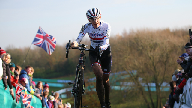 Helen Wyman made an impassioned plea for riders to think of Cyclo-cross as rewarding career path (Getty)