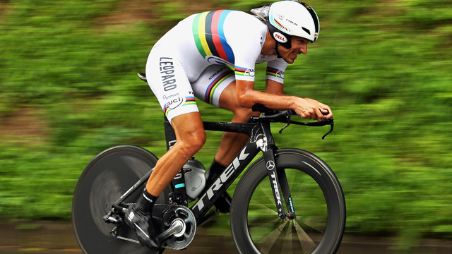 Five-time World Time Trial Champion Fabian Cancellara (Getty)