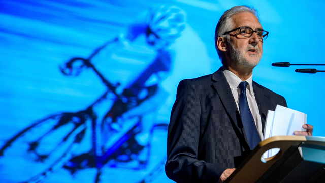 With the release of the CIRC report, UCI president Brian Cookson is tasked with steering the sport in a new direction (AAP)