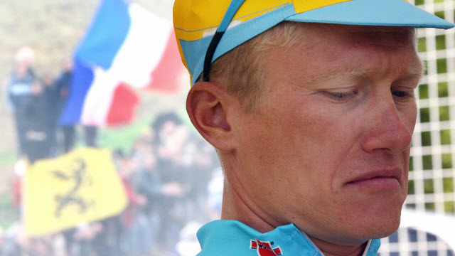 Alexandre Vinokourov has been at it for quite some time... (Getty Images/AFP)
