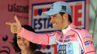 Alberto Contador won the 2011 Giro d'Italia. Photo: AAP