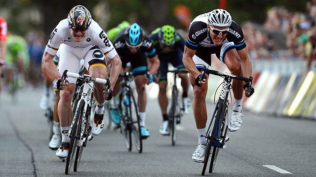 German renaissance...Andre Greipel and Marcel Kittel go head-to-head (AAP Images)
