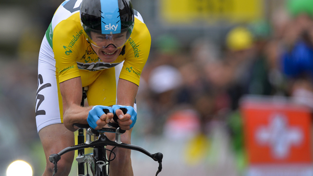 Tough times for Froome-Dog  (Getty Images)