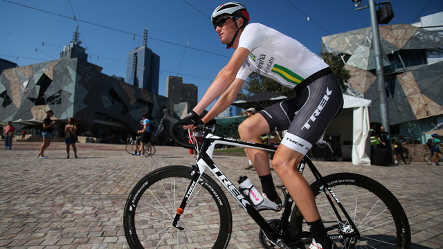 Defending Jayco Herald Sun Tour champion Calvin Watson. (Image: Mark Gunter)
