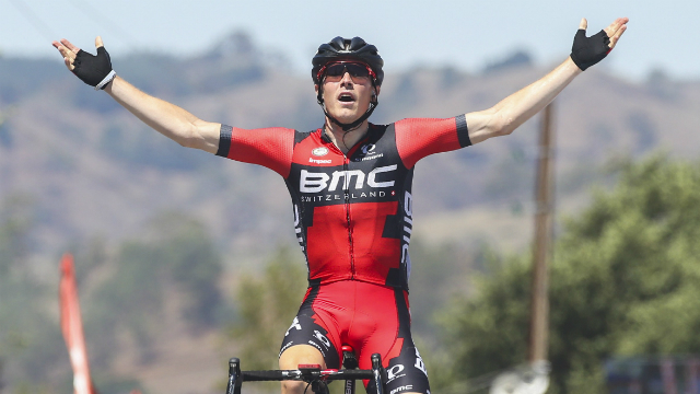King of the queen stage... Rohan Dennis. (AFP/Mark Gunter)
