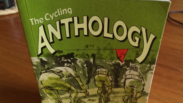 The third edition of the Cycling Anthology, from Peloton Publishing. (SBS)