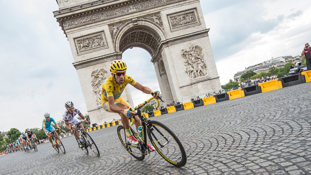 vincenzo Nibali was untroubled as he rode to his first Tour de France victory (AAP)