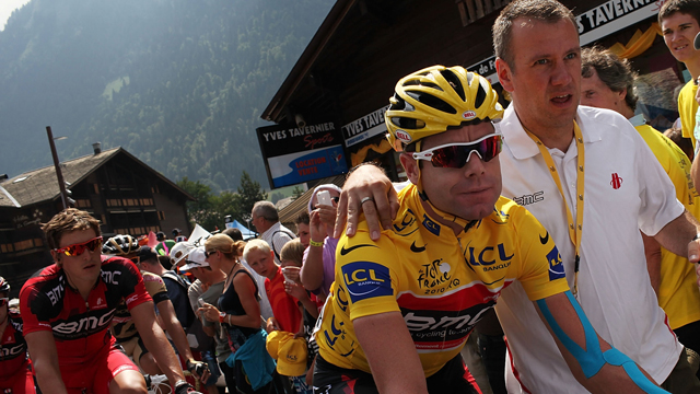 BMC's Cadel Evans at the 2010 Tour de France (Getty)