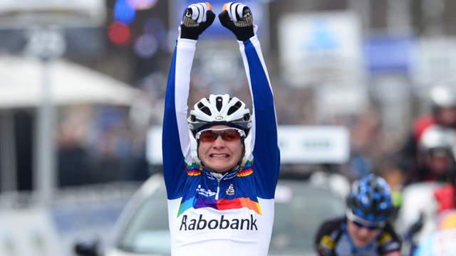 Women's Ronde Van Vlaanderen winner Marianne Vos (Getty)