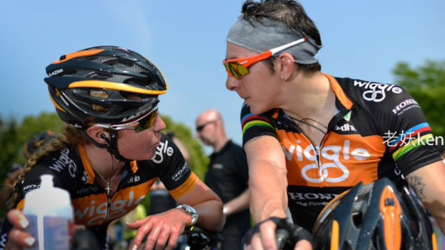 Professionals like Wiggle Honda's Rochelle Gilmore (L) and Georgia Bronzini (R) are affected by recent race disorganisation (Image by Wiggle Honda)