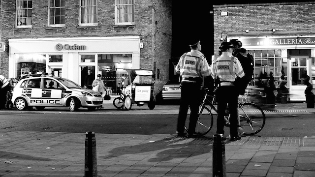 Pulled over... (Flickr)