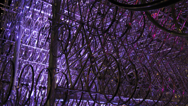 'Forever Bicycles' by artist Ai Weiwei during Nuit Blanche in Toronto (Image: Sean Marshall/Flickr)