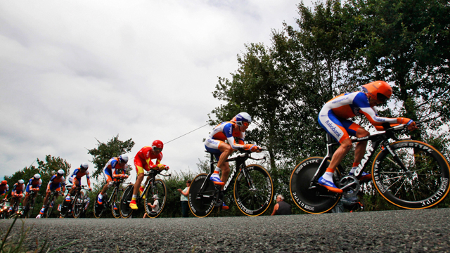 Rabobank are one of the teams who will be pleased with their position (AAP)