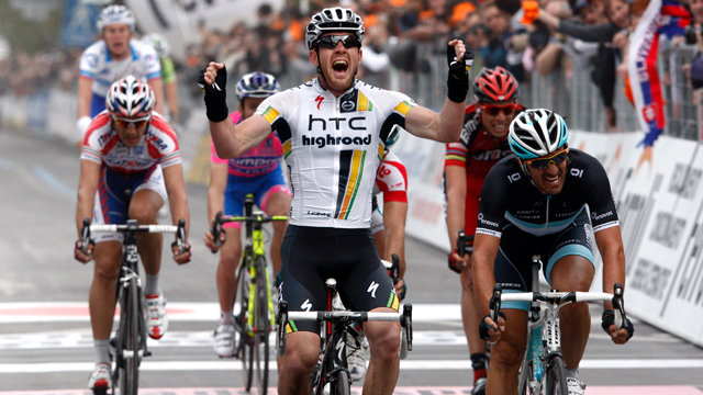 HTC-Highroad's Matt Goss won the 2011 Milan San-Remo (AAP)