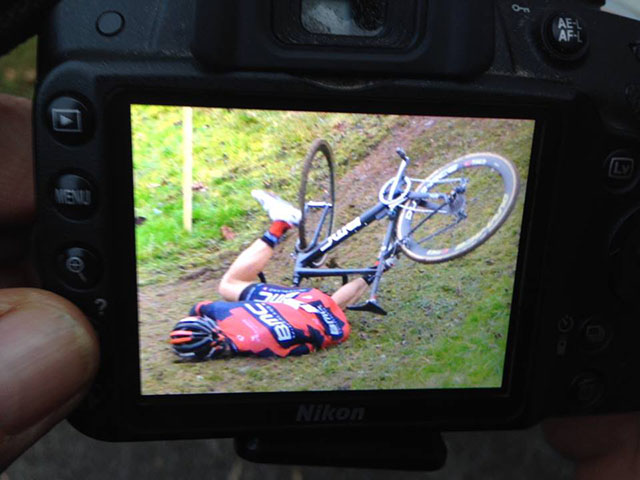 Photo: The injury should have limited impact on Absalon's preparation for the 2015 international seaso.