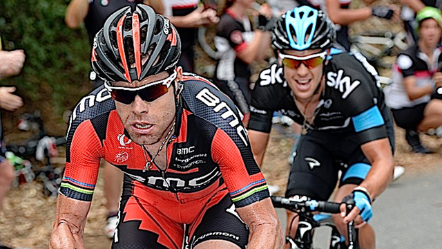 Peerless... Cadel Evans has certainly found his groove at the Santos Tour Down Under. (Getty Images)