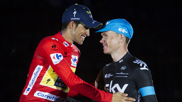 Oleg Tinkov wants Alberto Contador to go toe-to-toe with Chris Froome and Vincenzo Nibali at the 2015 Giro d'Italia and Tour de France (AAP)