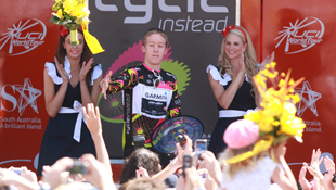 2011 Santos Tour Down Under champion Cameron Meyer (AAP)