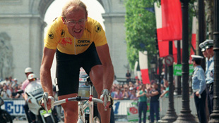 Two-time Tour de France winner Laurent Fignon (Getty)