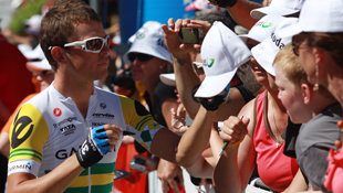 Australian national road champion Jack Bobridge at the 2011 Tour Down Under in Adelaide. (Image: AAP)