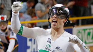 World Keirin Champion, Shane Perkins (AAP)