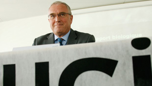 International Cycling Union President Pat McQuaid (Reuters)