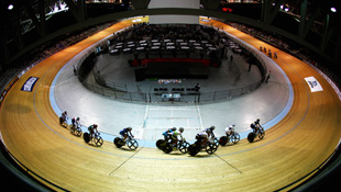 The Hisense Velodrome in Melbourne (Getty)