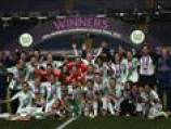 Wolfsburg shock Lyon to win women's Champions League final