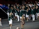 Australia marches into opening ceremony