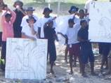 33 days of hunger for Iranian on Nauru