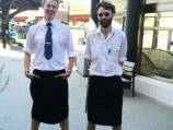 Sweden: Male train drivers don skirts to beat the heat