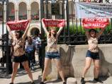 Tunisia jails topless protesters