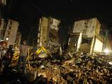 Five dead in building collapse in India