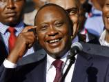 Kenyatta sworn in as Kenya president