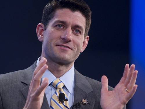 Congressman Paul Ryan is tipped to be announced as Mitt Romney's running mate. (AAP)