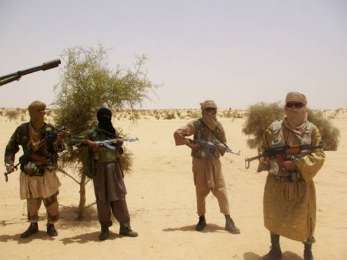 Ansar Dine rebels seized control of Mali's north this year along with various other Islamist factions. (AAP)