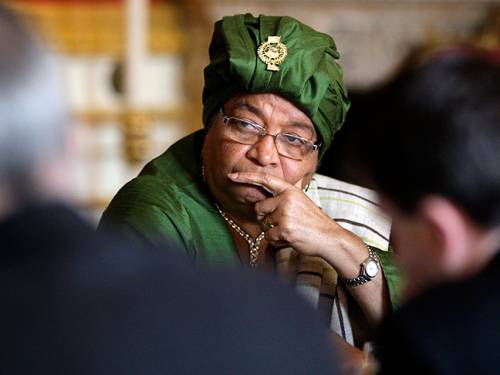 Liberia's Ellen Johnson Sirleaf. (Getty Images)