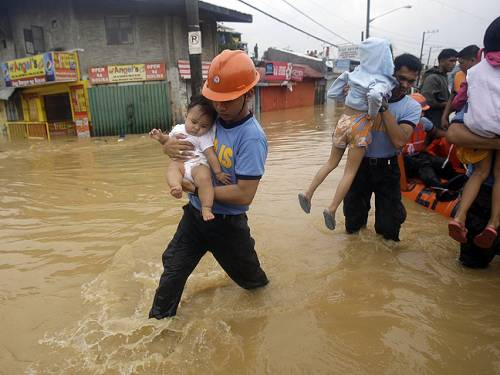 The number of people officially affected by the floods also rose to 2.44 million people, from 2.1 million recorded on Thursday, the council said. (AP)