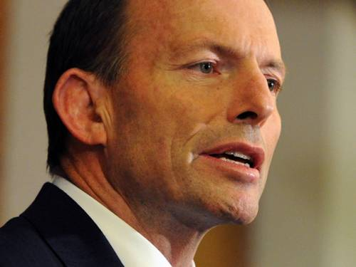 Opposition Leader Tony Abbott rejects claims he's too gloomy in talking down the economy. (Getty)